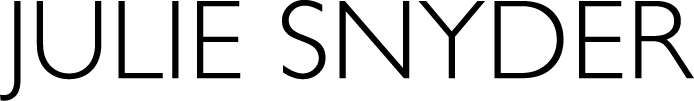 Logo du site de Julie Snyder