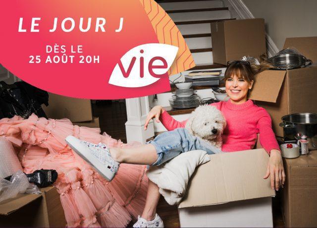 LE JOUR J : Julie Snyder déménage… à Canal Vie!