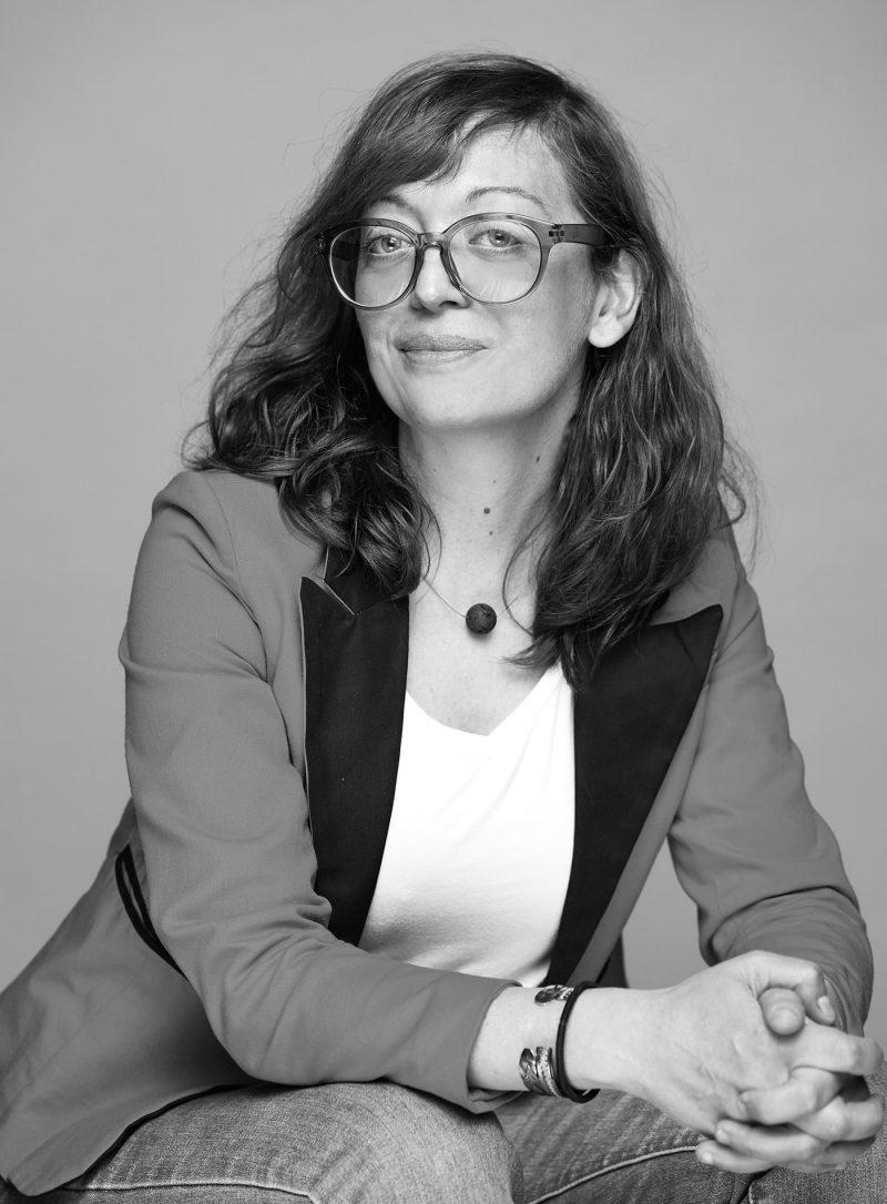 Photo employé Maëva François noir et blanc