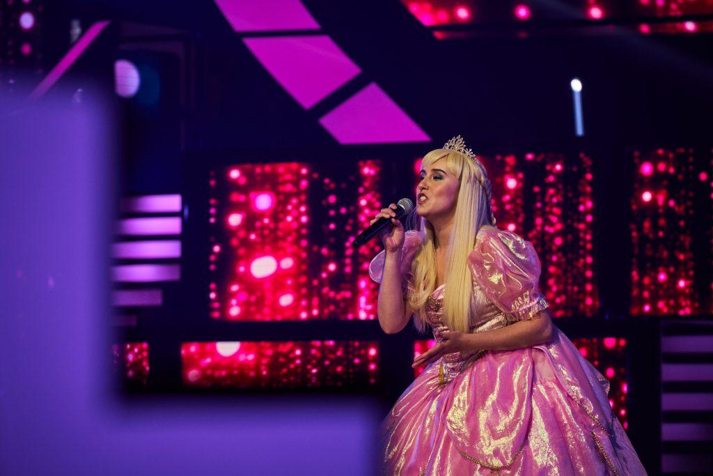 Photo déguisement princesse Qui sait chanter participante