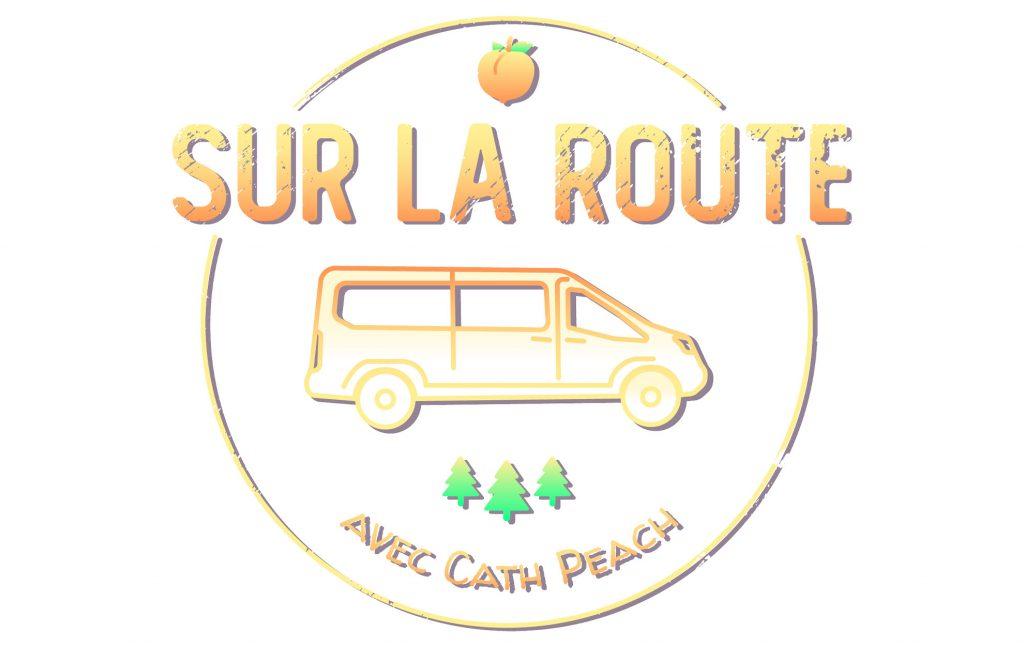 Logo Sur la route avec Cath Peach