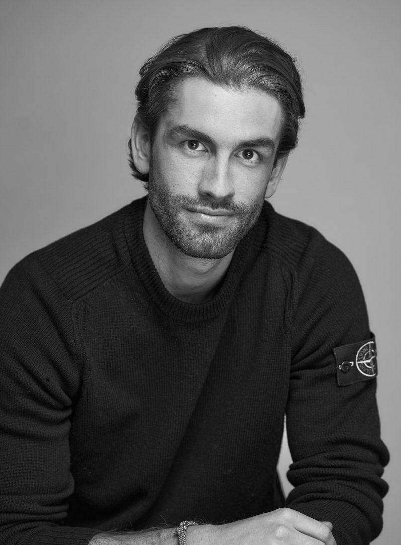 Photo employé Vladimir Van Themsche noir et blanc