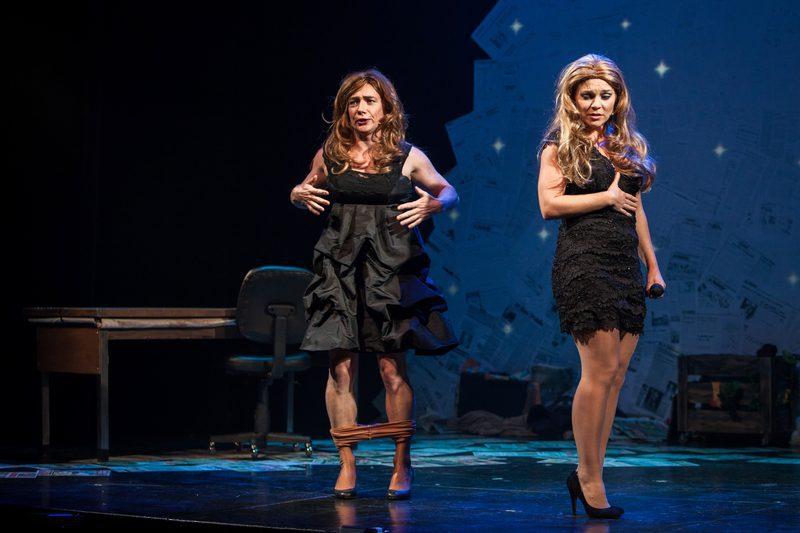 2012 revue et corrigée Céline Dion et Julie Snyder