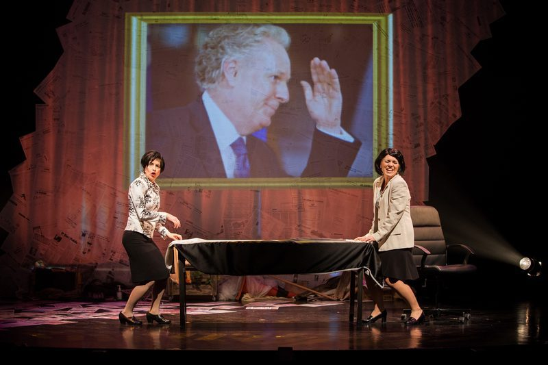 2012 revue et corrigée Line Beauchamp et Michelle Courchesne