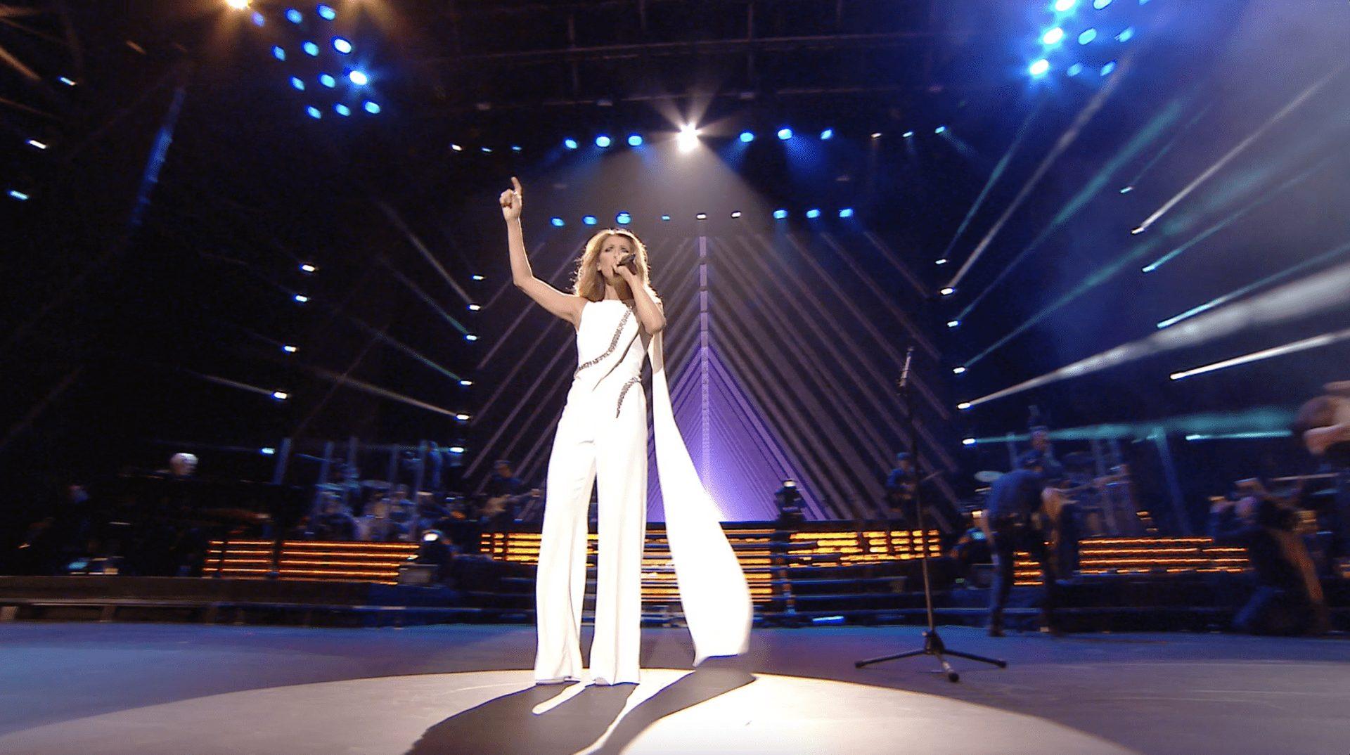 Céline Dion... une seule fois
