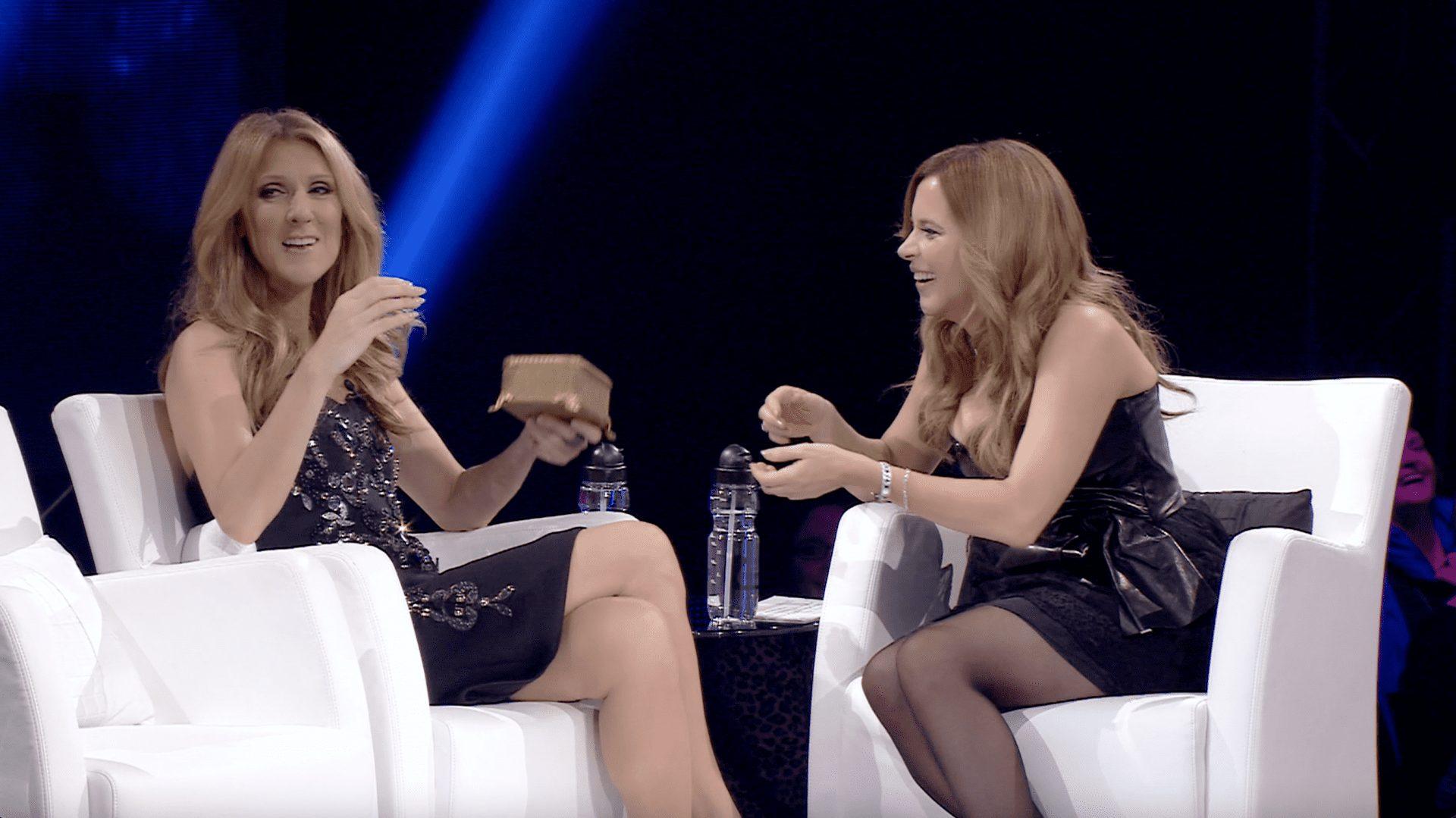 Céline Dion sans attendre Julie Snyder