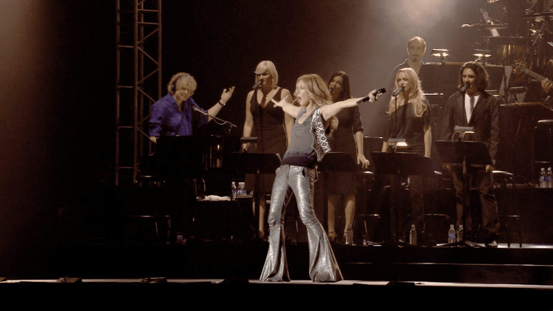 Céline Dion sur les plaines