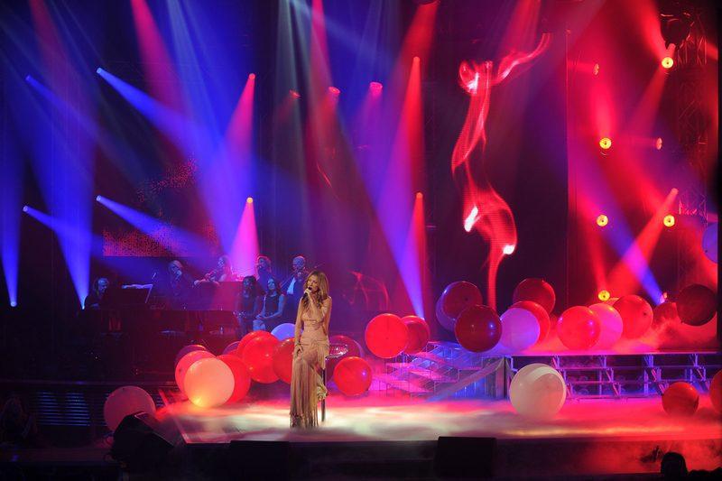 Céline Dion Sans attendre chant