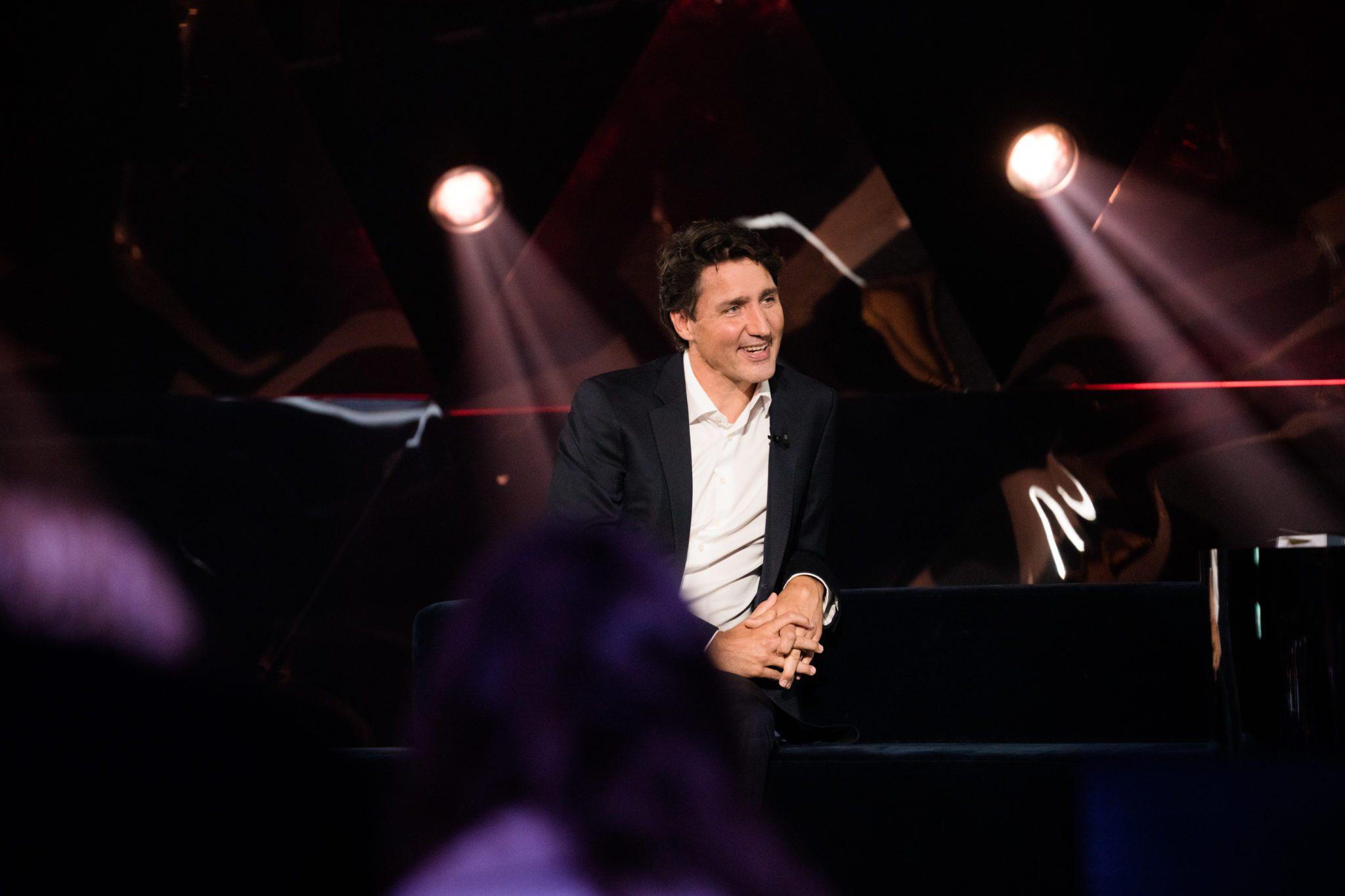 Justin Trudeau à La Semaine des 4 Julie